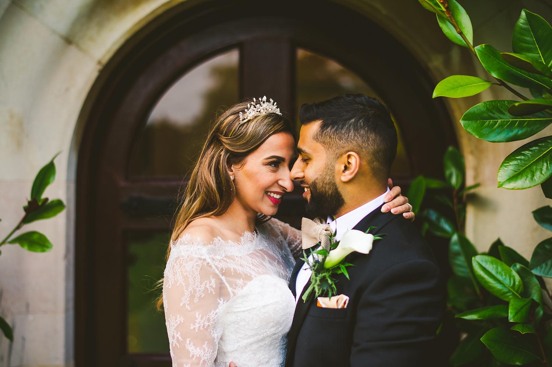 couple wedding portrait Leicester