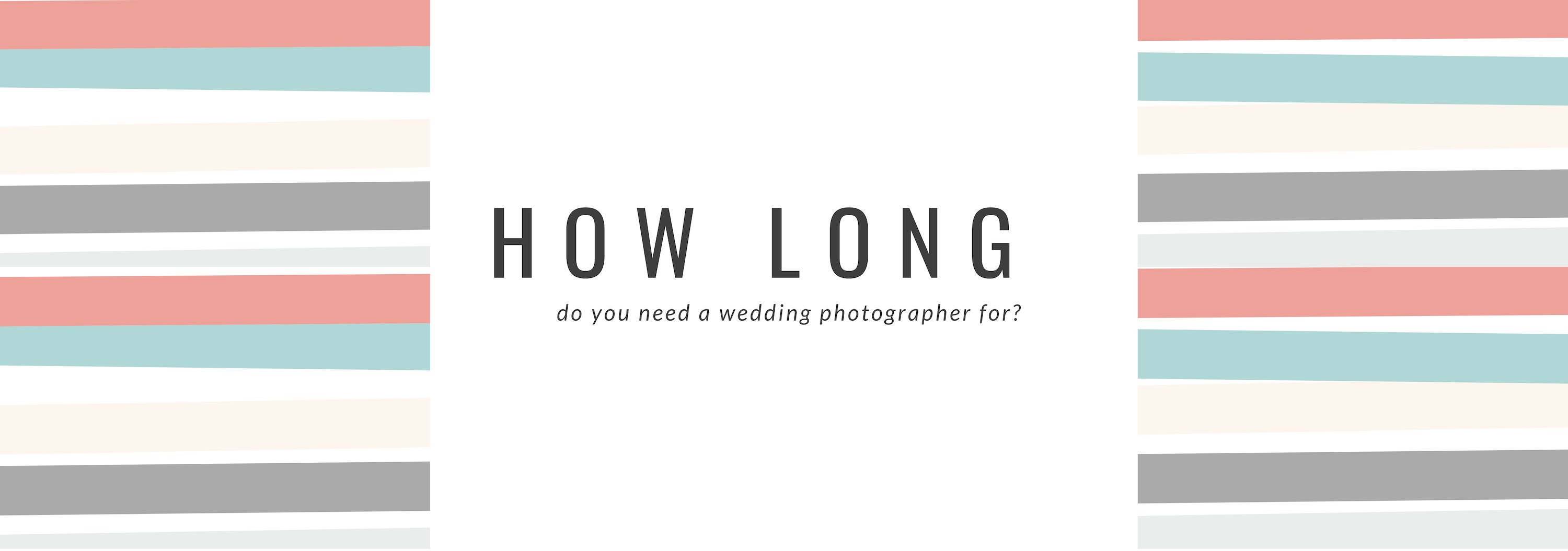 How many hours of photography for wedding